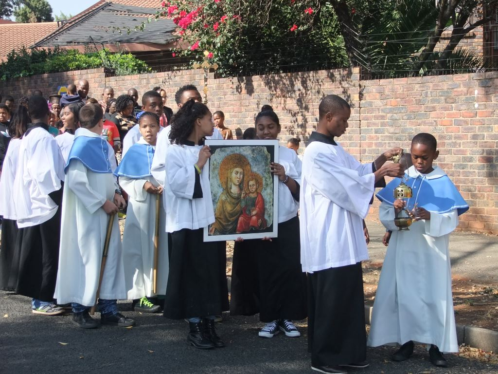 Our Lady of the Wayside Parish Feast Day and Procession