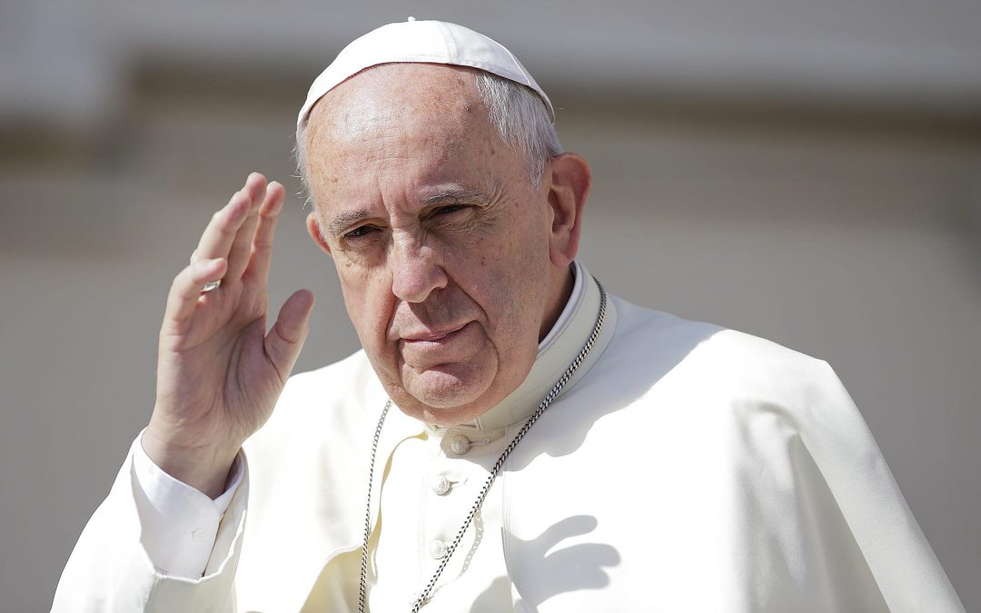 Pope Francis says he's sorry he lost patience with hand-shaker who yanked him